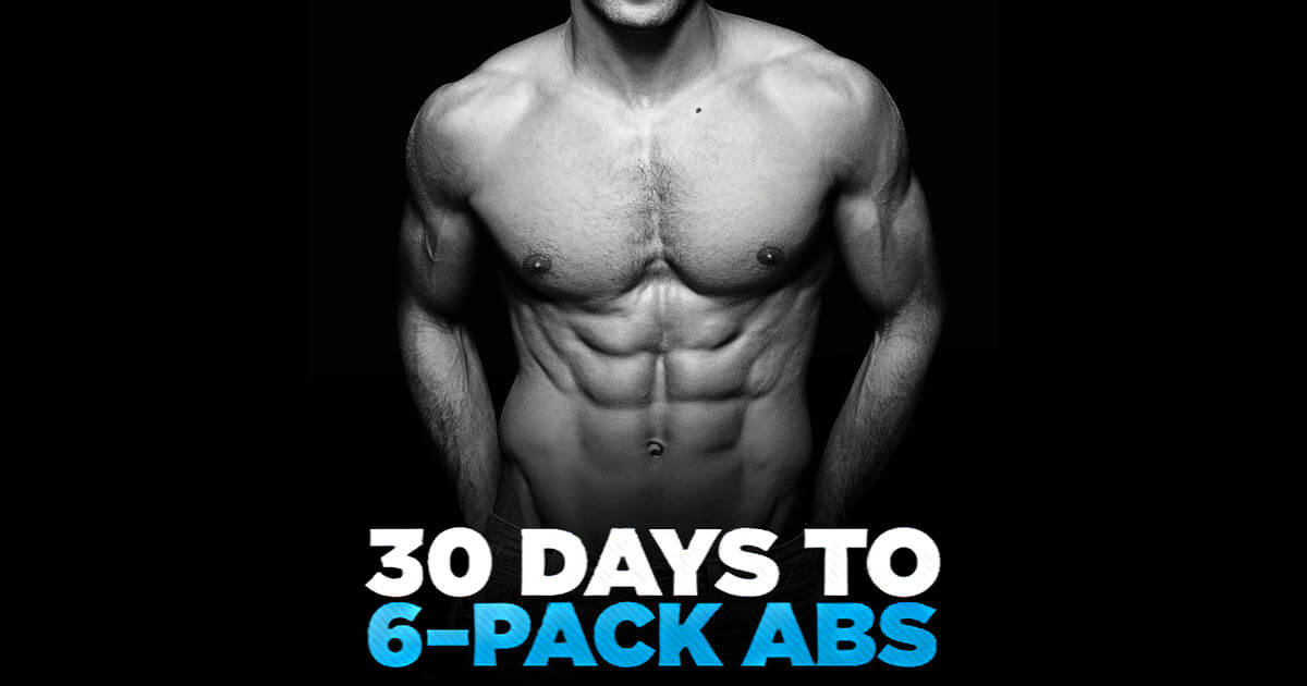 how to get a six pack in a day