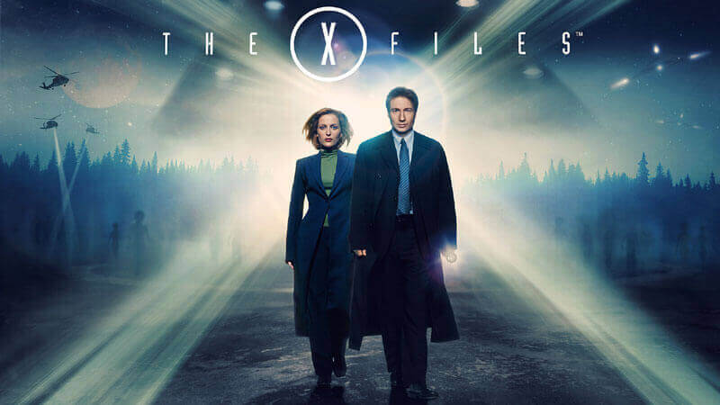 X-Files-tv shows