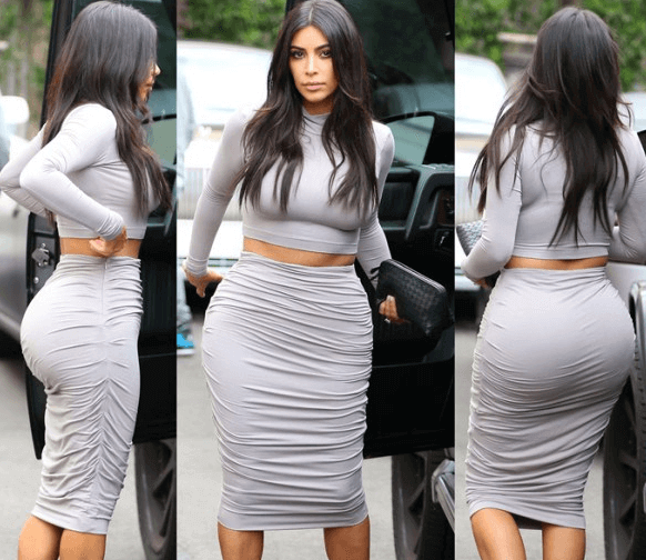 Kim-Kardashians-Butt-the kardashian family