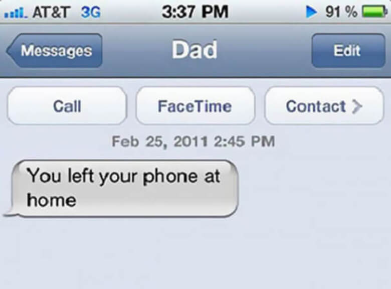 12-inappropriate accidental texts