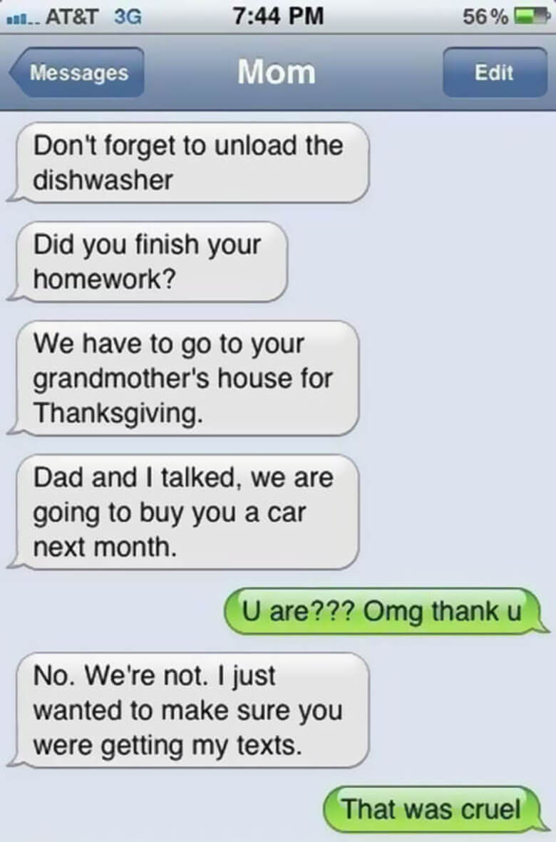 14-inappropriate accidental texts